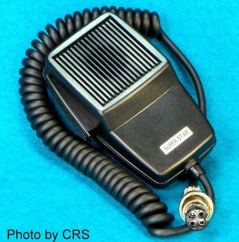 Mic    Microphone For 4 Pin Cobra    Uniden Cb Radio